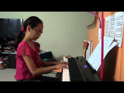 Wan Feng Sally Yeh  piano by Evelyn