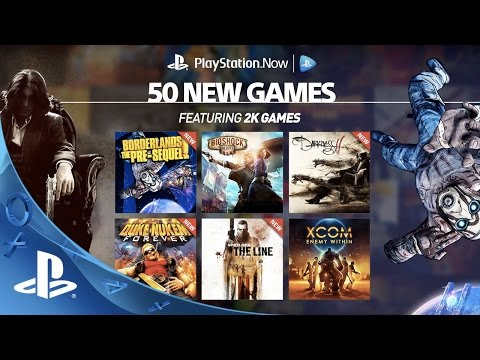 50 New Games on PS Now