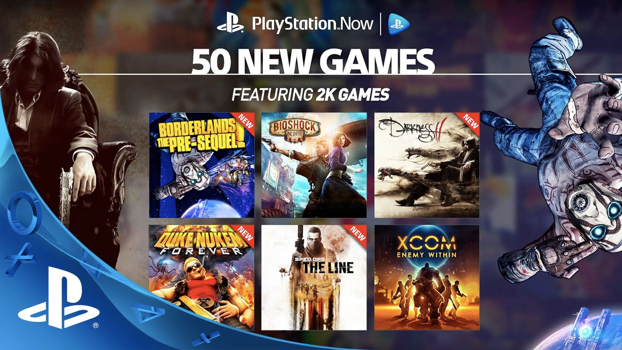 50 New Games On Ps Now Youtube