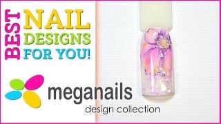 Дизайн ногтей #011 - DIY nail designs for your creativity!