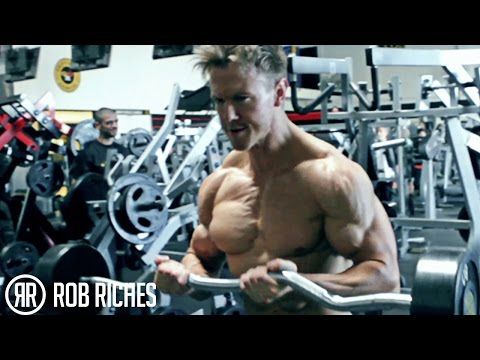 Grow Your Biceps With EZ Bar Curls - Rob Riches
