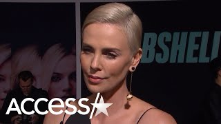 Charlize Theron Has The Best Reaction When Asked About Jennifer Lopez's 'Hustlers' Dance