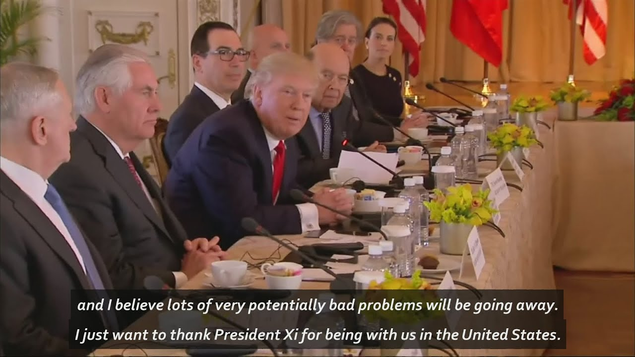 Image result for Trump: It's been 'very interesting' with President Xi