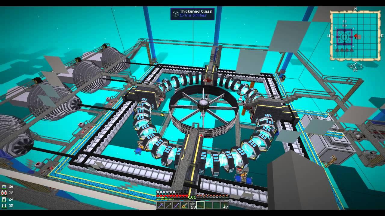 Minecraft Ftb Monster Survival Reactorcraft Fusion