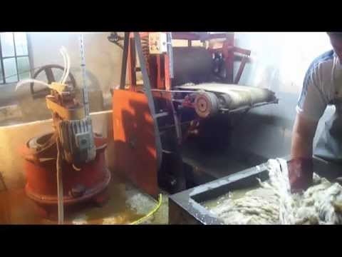 lavage de laine - youtube