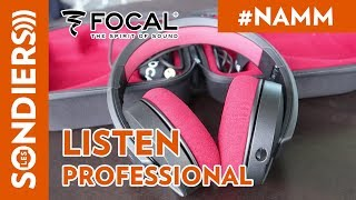 [NAMM 2018] FOCAL LISTEN PROFESSIONAL - CASQUE AUDIO PROFESSIONNEL