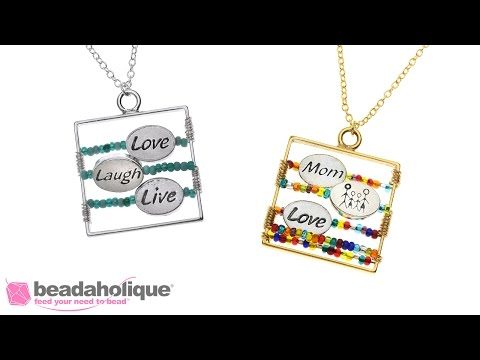 How To Make A Personalized Message Necklace