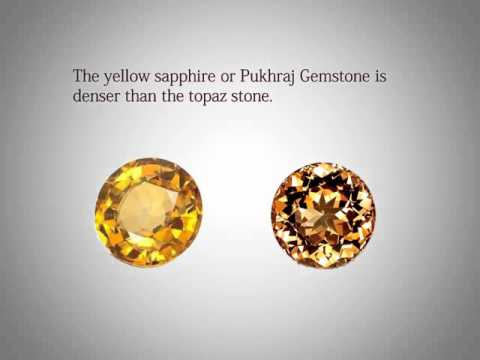 Difference Between Yellow Sapphire And Topaz