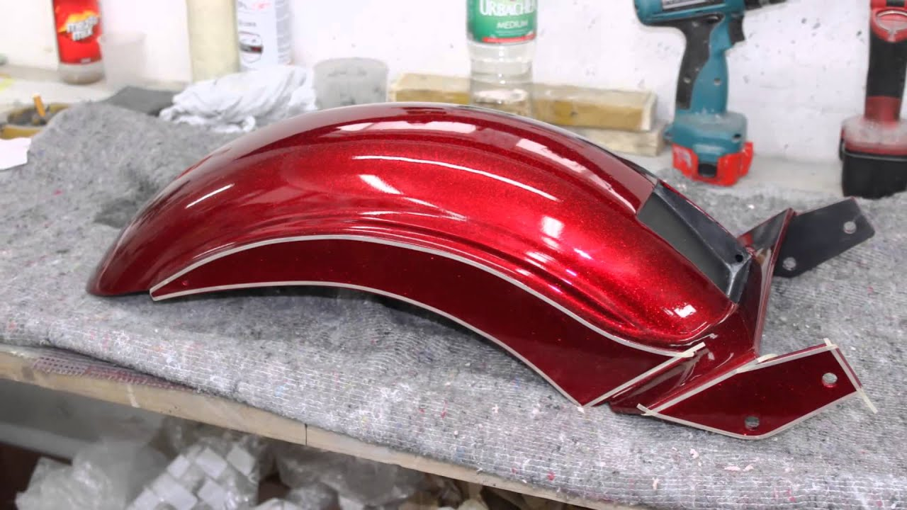Harley Davidson Custompaint Metalflake Candy Gold