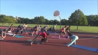 Kriya Yoga with Vidya Nahar - Sunrise Yoga in the Park