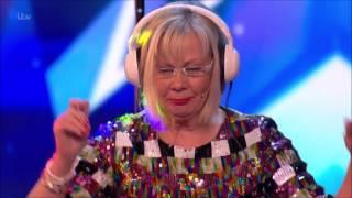 Britain's Got Talent 2017 - DJ Dizzy Twilight - Unexpected granny DJ