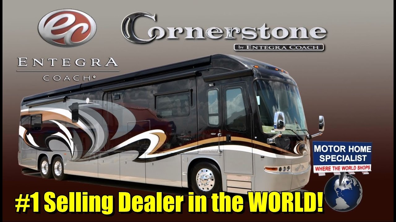 2013 Entegra Coach Cornerstone Luxury RV For Sale At Motor Home Specialist Stk5293