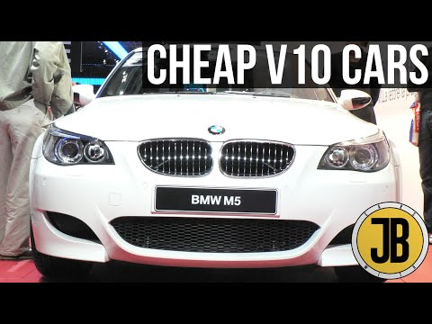 Top 5 CHEAPEST V10 Cars You Can Buy (LESS THAN £10,000)