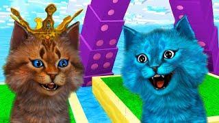 ВЫЖИВАЕМ на островах в Roblox CURSED ISLAND! Котёнок Лайк против Котика Игромана