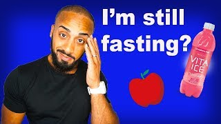 Top 3 reasons for not consuming anything during a fast