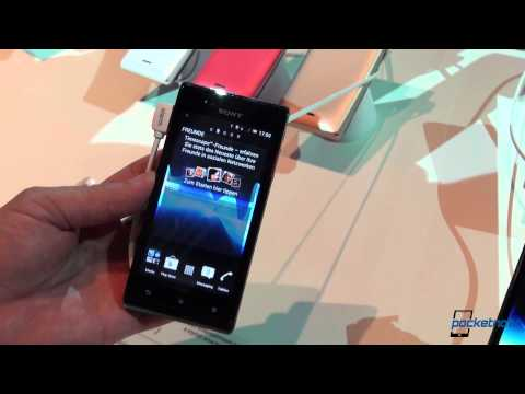 Sony Xperia J Hands-On