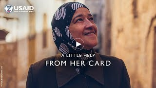 A Little Help From Her Card