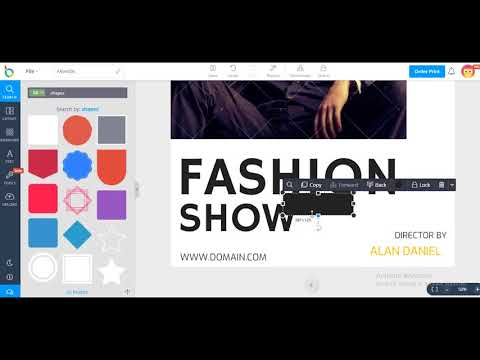 How to design an attractive Fashion Poster