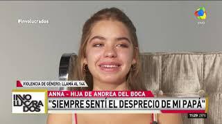Anna Chiara Hija De Andrea Del Boca Sufrí Mucho Bullying