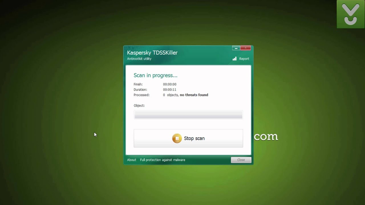 Kaspersky TDSSKiller - Detect and remove rootkit malware on your PC