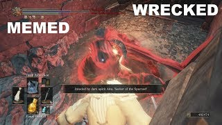 Dark Souls 3 - MEMED / WRECKED - ALVA, Instant Spawn KILL