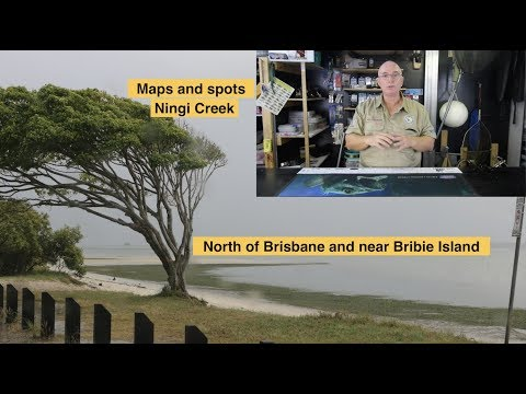 Ningi Creek, Near Bribie, Maps And Spots To Target Bream, Flathead And More. Land And Bay Fishing.