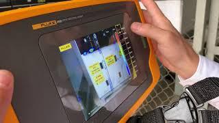 Fluke ii900 - phát hiện PD trong tủ RMU trạm 22kV