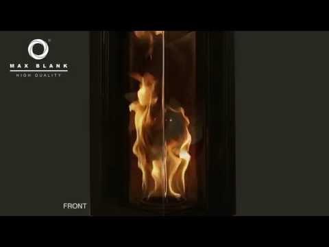 Stromfreie Pellet-Feuersäule bis zu 65 cm - O6b