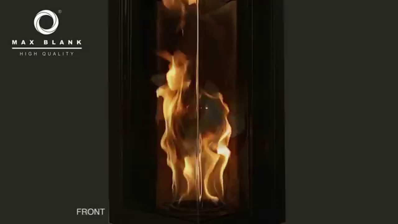 Stromfreie Pellet Feuersaule Bis Zu 65 Cm O6b Youtube