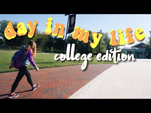 Day In My Life as a College Student | Elon University