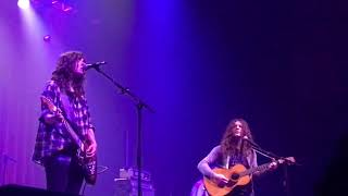 Untogether- Courtney Barnett and Kurt Vile (Belly cover)-  Fox Theater in Oakland (10-18-17)
