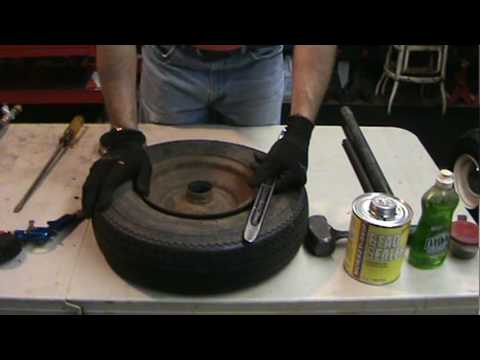 Tire Changing 101 How To Change Your Own Mower Or Garden