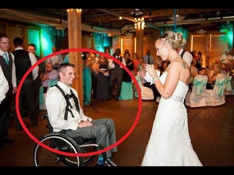 Она вышла замуж за инвалида, но на свадьбе её ждал большой сюрприз