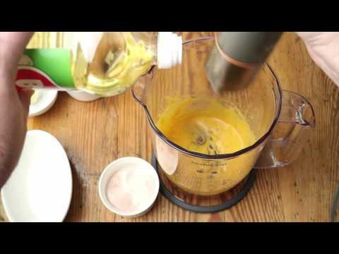 Mayonnaise selber machen, Rezept von Chefkoch Thomas Sixt für gelingsichere Mayo