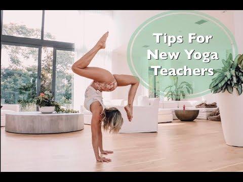 Tips For New Yoga Teachers!