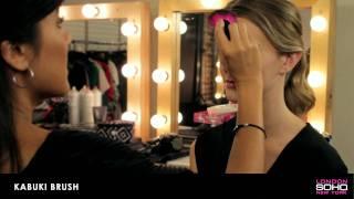 SOHO Silk Makeup Brush Collection - Kabuki Brush Thumbnail