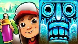 iGameBox🤩Subway Surfers SEOUL Vs Temple Run 2 HD Fullscreen Gameplay For Kid#12