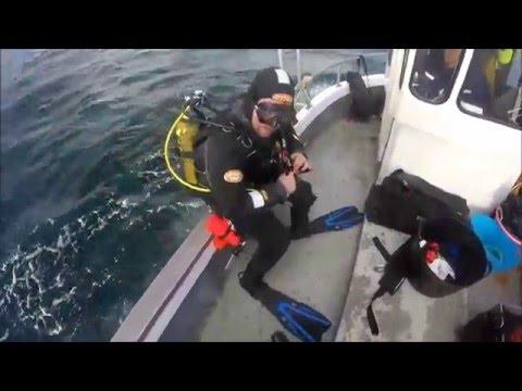 Dive Guernsey - Dans' Tech Week - Dive 1 - Cement Wreck