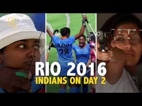 The Quint: Indian Results from Day 2 of Rio 2016