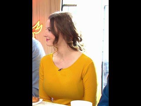 Dakota Blue Richards Sunday Brunch TV