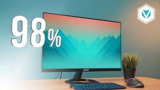 Màn Hình PC 98% sRGB giá 3,5 Triệu! 😱😱😱