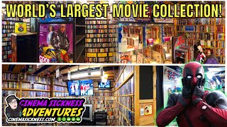 Touring The World's Largest Movie Collection! Well... One Of The Largest Anyway...