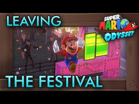 What If You Explore New Donk City During the Festival? - Super Mario Odyssey