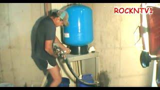 Well Water Pressure Tank Install HowTo DIY Plumbing