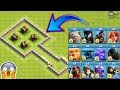 4X Giant Cannon vs All Troops Clash of Clans   Giant Cannon vs Every Single Troop COC