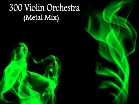 300 Violin Orchestra Metal Mix