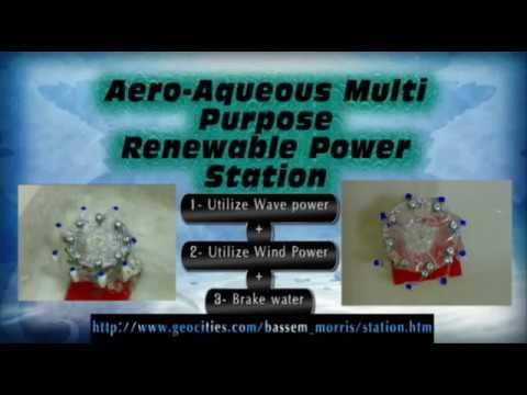 Aero-Aqueous Multi-Purpose Renewable Power Station
