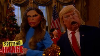 Merry Christmas from the Trumps | Spitting Image