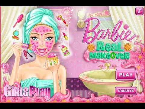 Barbie Cartoon Make Up Games Barbie Cartoon Online Games