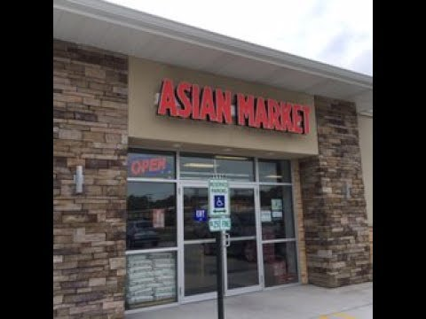 Tour of Asian Market in Springfield, IL (Jerome)